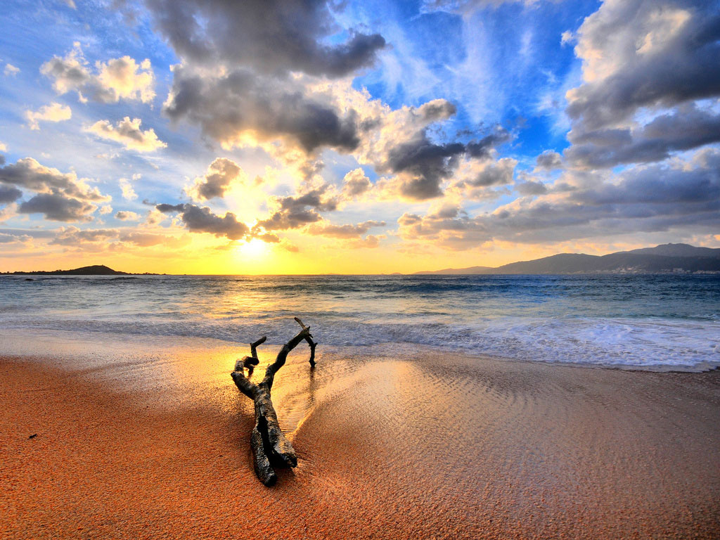 Beleza Do Mar Papel De Parede Lugares E Paisagens