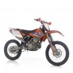 echappement moto CROSS KTM 250 SX 06 leovince 2