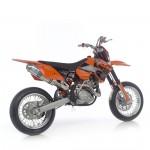 echappement moto CROSS KTM SMR 525 leovince 2
