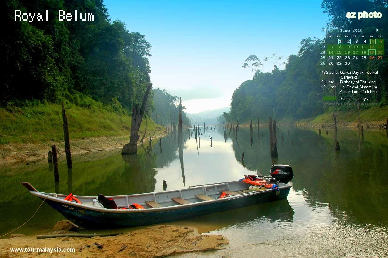 Malaysia-Calendar-June-2010-Royal-Belum