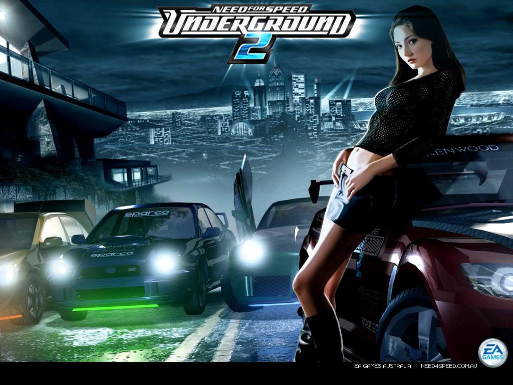 Скачать бесплатно Need for Speed Underground 2 (Rus) .