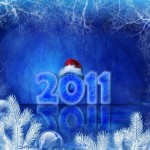 New year wallpaper 2011 - 8 feliz