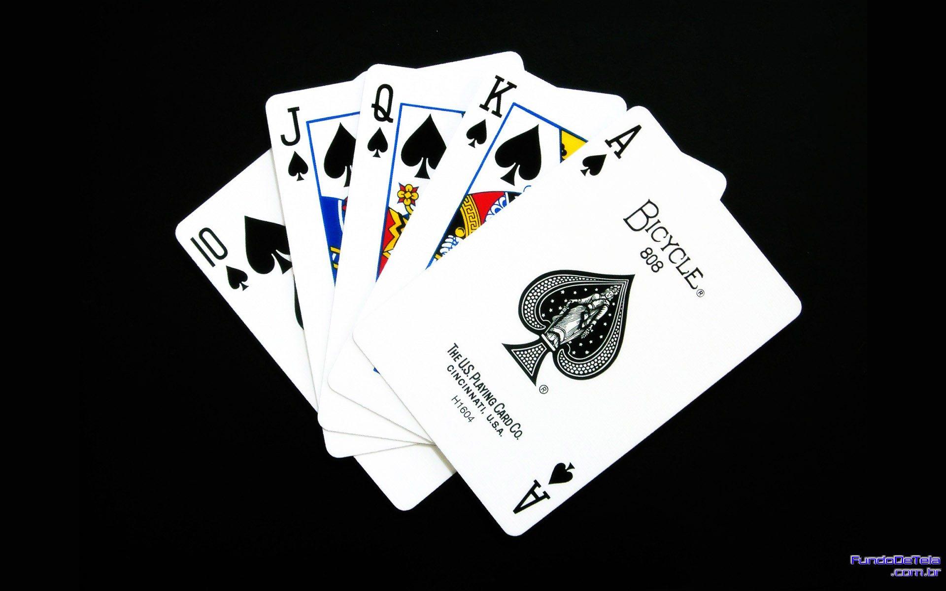 Muito Cartas, Baralho, Truco e Poker – Wallpapers – Só Papel de Parede  FX79