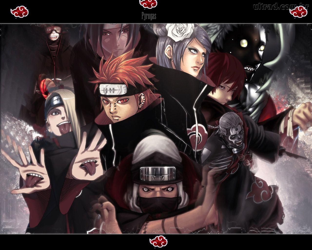 Imagens do Naruto VS Sasuke para papel de parede