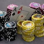 poker wallpaper AA and chips