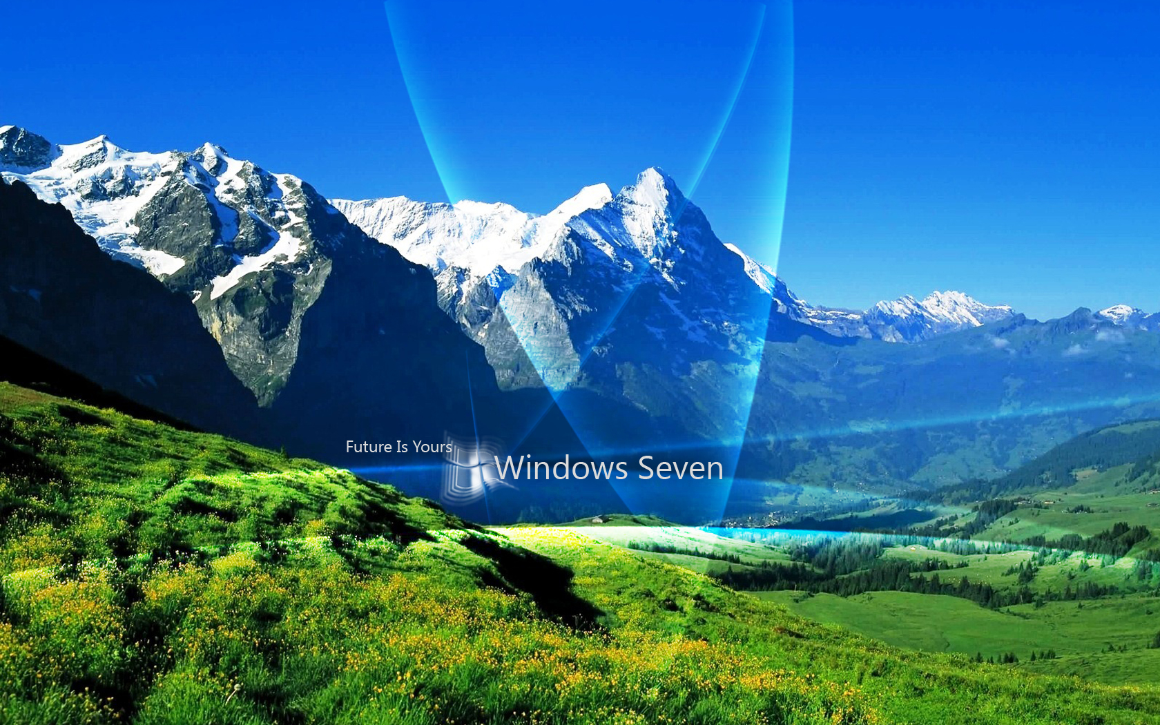 One Comment On Windows 7 Future Is Yours Wallpaper