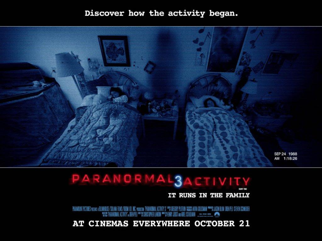 Papel de Parede do Filme Atividade Paranormal