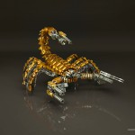 Scorpion_War_Robot_Gold_Edition