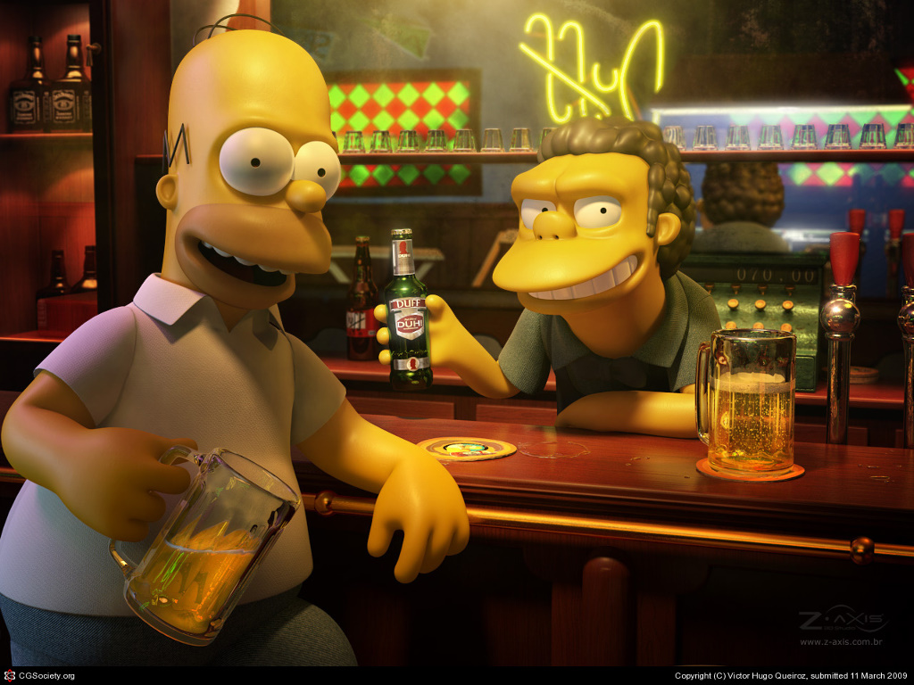 Moe's Bar Simpsons