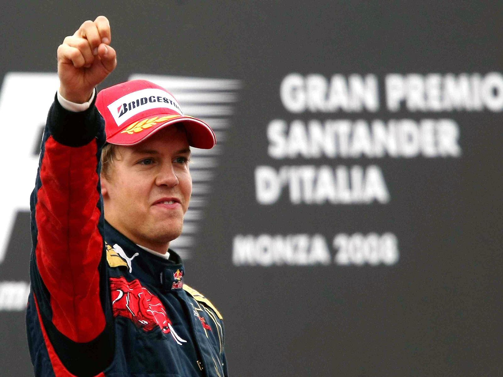 Гран-При Италии 2008, Монца. Себастьян Феттель