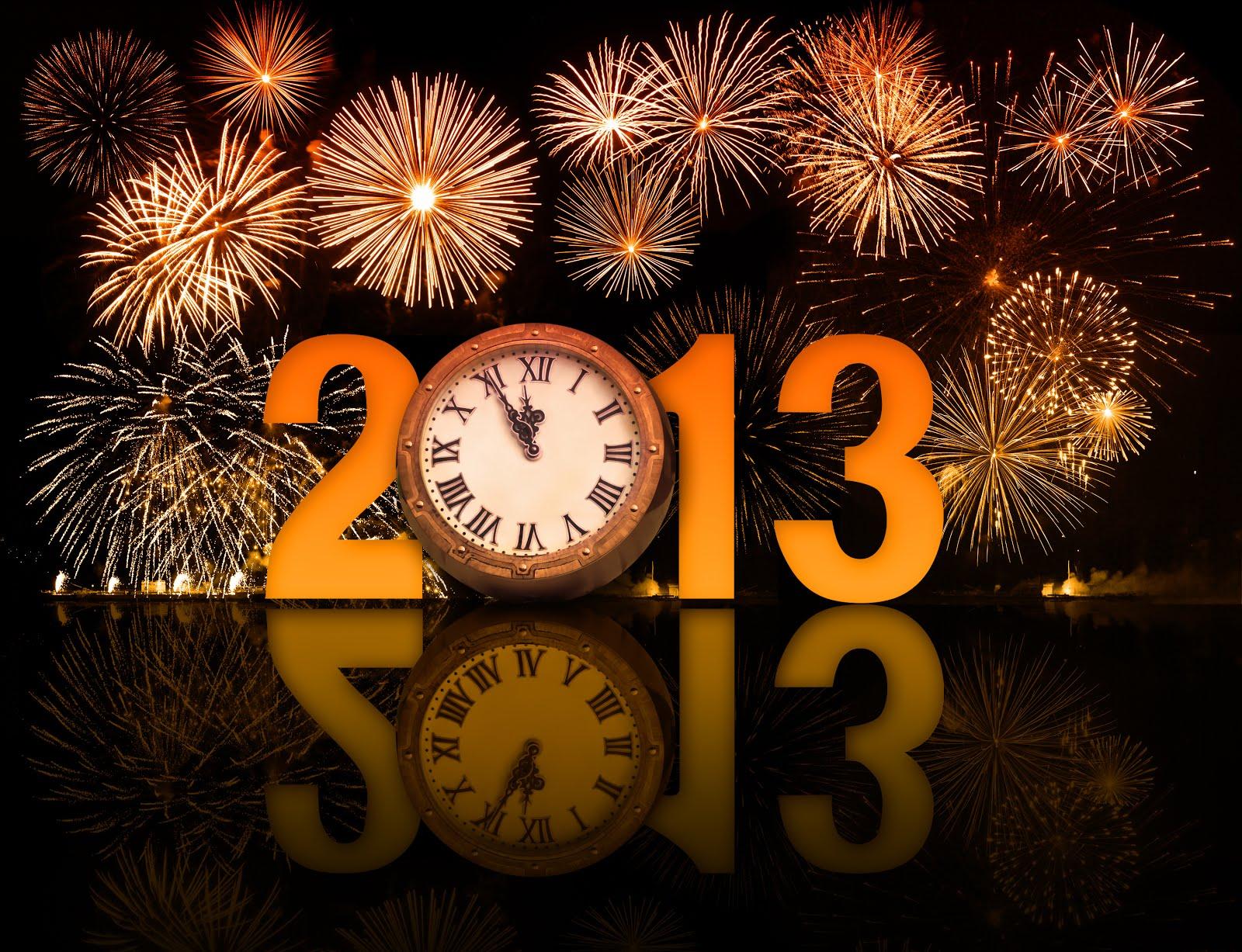 5, 4, 3, 2, 1… FELIZ ANO NOVOOOO! 2013 Chegou!