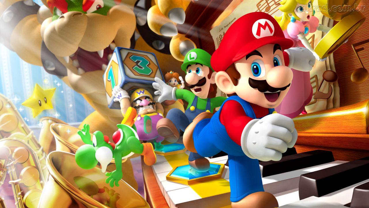 Games: Sonic, Mario e Kratos