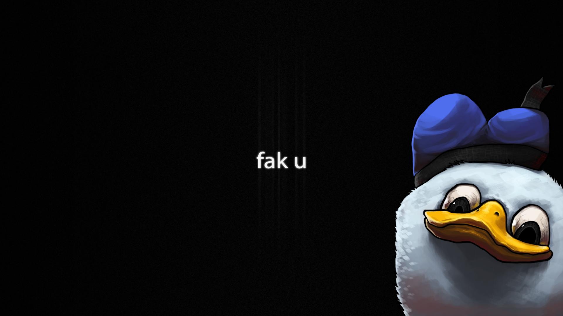 """Papel de Parede do Pato """"Dolan"""""""