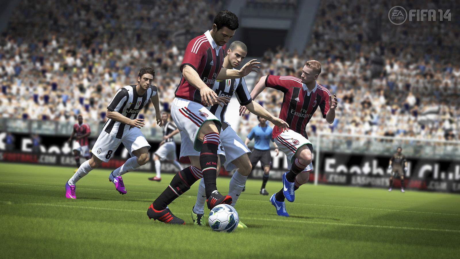 FIFA 14 e PES 14