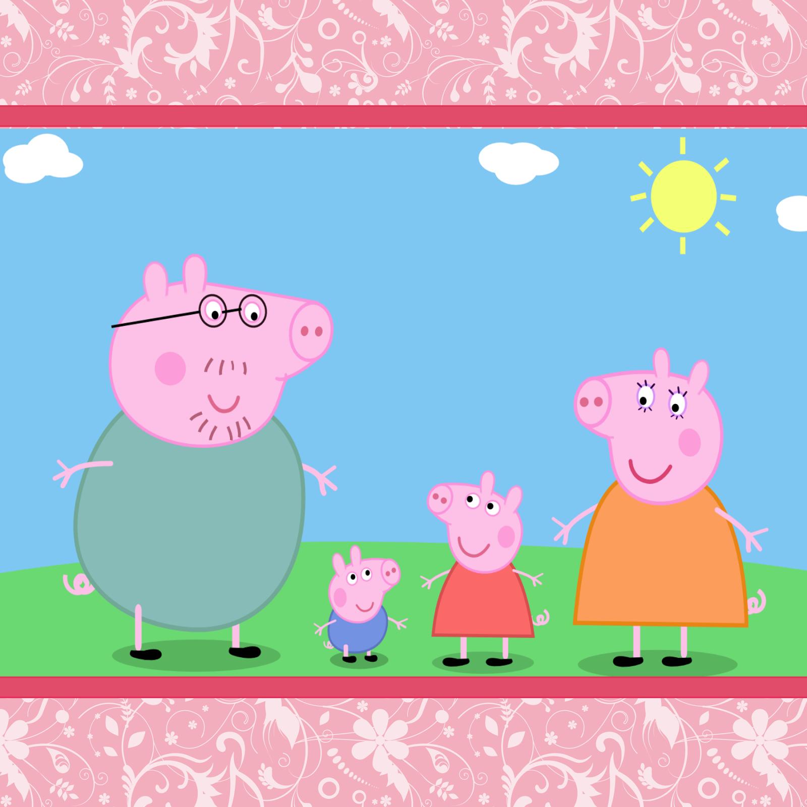 Peppa Pig – Download grátis de papel de parede