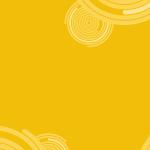 papel-de-parede-bolas-amarelo