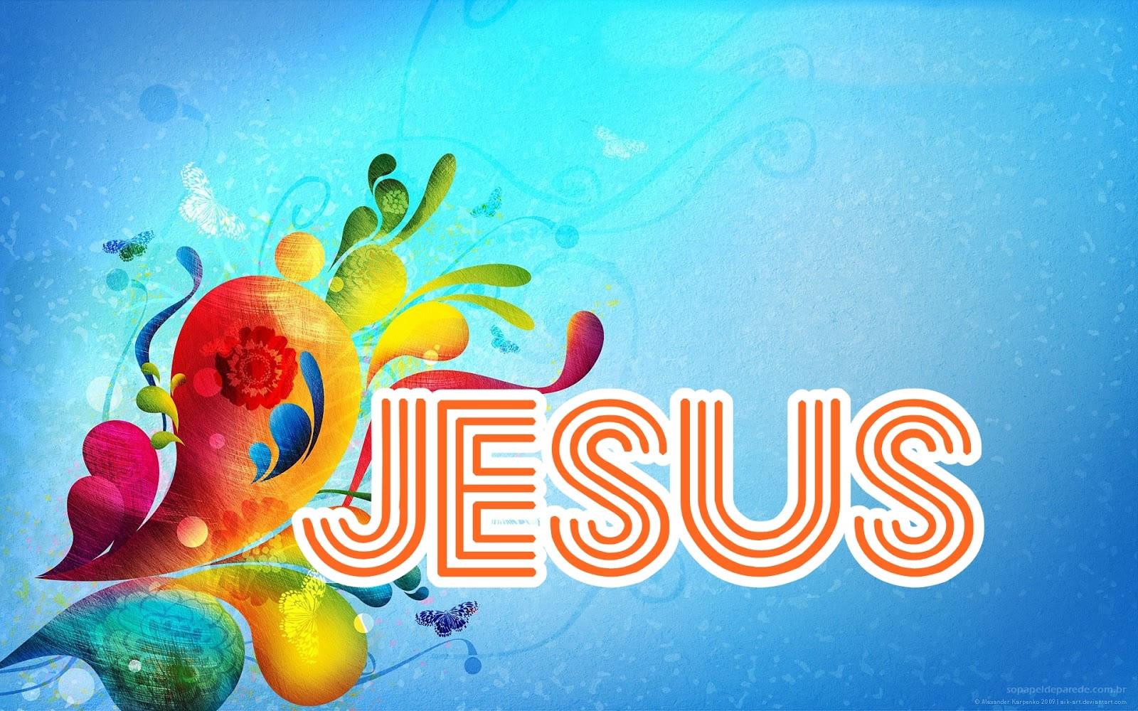 Papel de parede – Jesus e Deus
