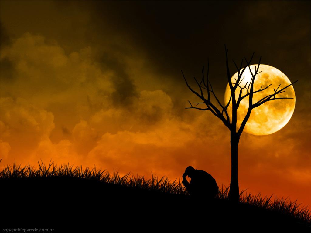 Luar, paisagens noturnas
