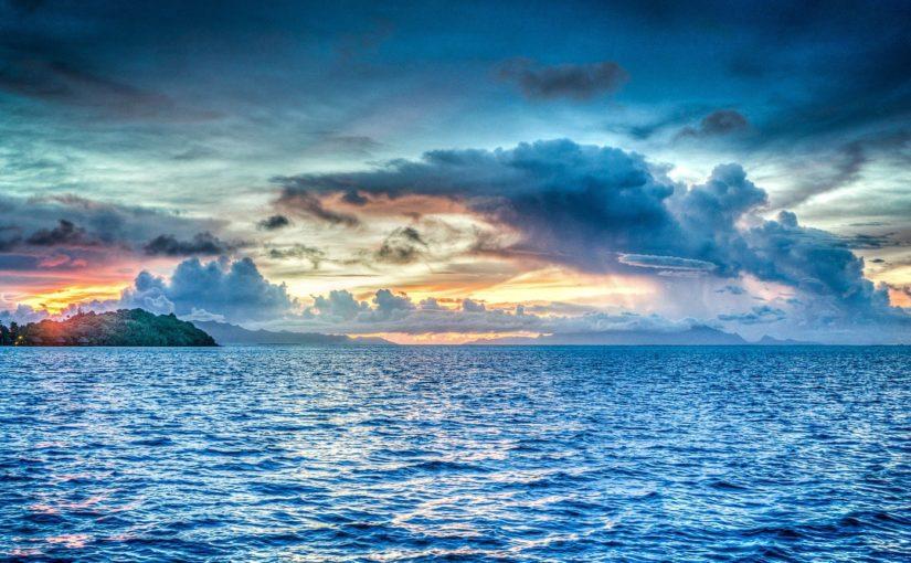 Papel de Parede Oceano