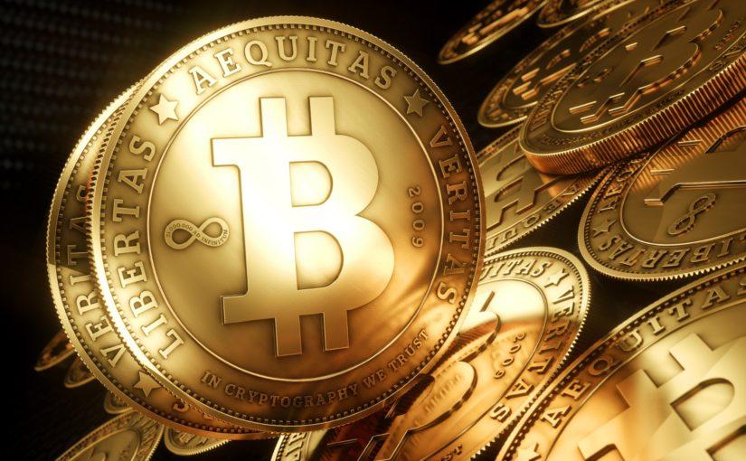 Papel de Parede Moeda Digital Bitcoin