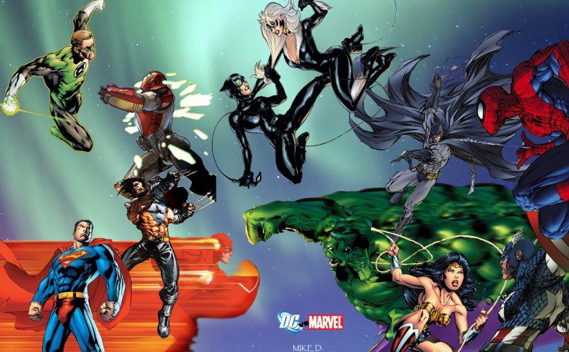 Papel de Parede – Marvel x DC